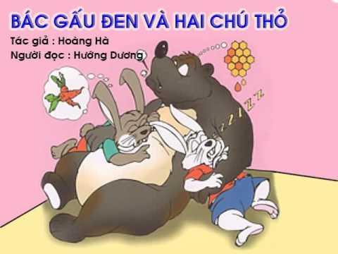 Bác gấu đen và hai chú thỏ - Tài liệu giảng dạy mầm non