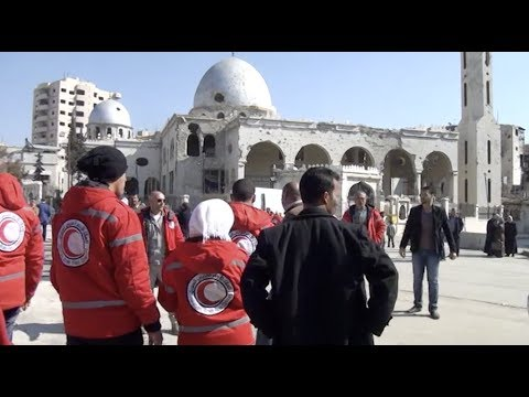 Syria: Aid and evacuation operations reach communities