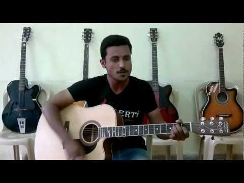 Maula Jism2 on guitar