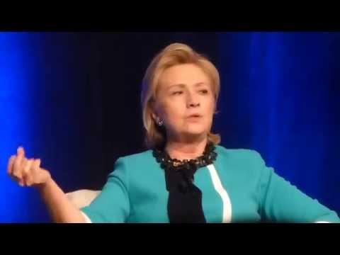Hillary Clinton Talks About Keystone Pipeline