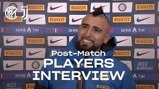 INTER 2-0 JUVENTUS   ARTURO VIDAL + ALESSANDRO BASTONI EXCLUSIVE INTERVIEWS [SUB ENG]