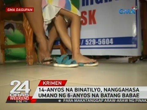 14-anyos na binatilyo, nanggahasa umano ng 6-anyos na batang babae