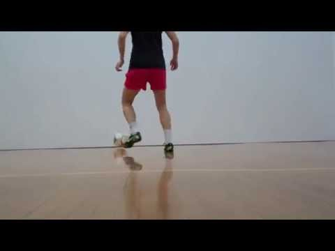 Yael's Method | Soccer Training | Racquetball Court Wall Progression