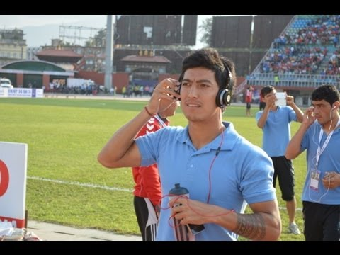 Interview with Afghanistan's captain Haroon Fakhruddin - SAFF Championship 2013