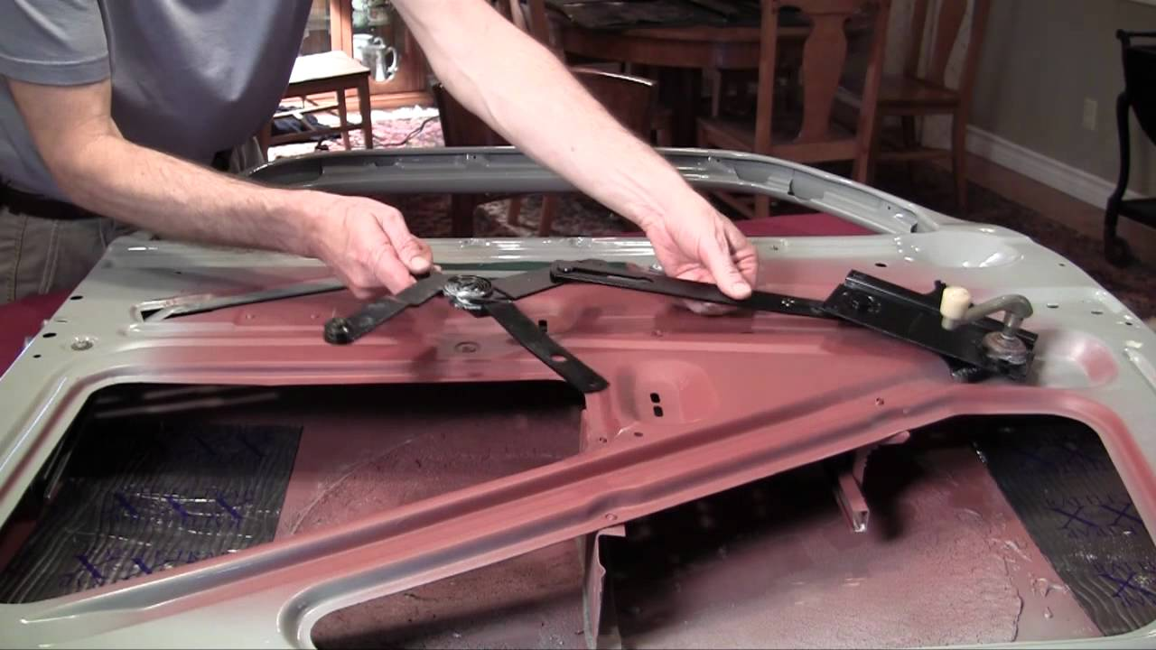 1941 plymouth restoration 13 youtube for 1940 ford door latch