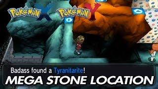 Pokemon X & Y Where To Find Tyranitarite & Aggronite