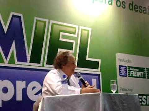 Arnaldo Jabor Forum IEL 2009 Cuiabá Mato Grosso