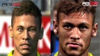 PES 2014 VS PES 2015 ¡Comparativa Caras De Jugadores