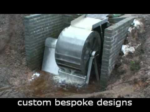 Stainless Steel Waterwheel Hydro Power Youtube