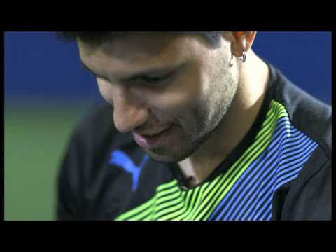 Sergio Aguero film for MOTD Kickabout