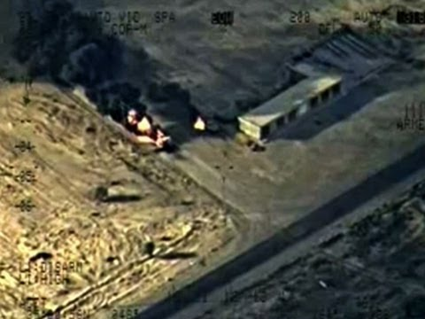 Raw: Iraqi Military Strikes Militant Targets