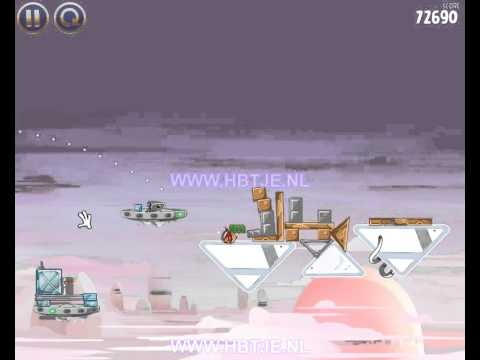 Angry Birds Star Wars Cloud City 4-7 3 stars