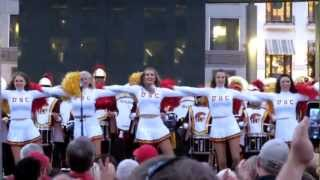 """USC Band """"Tribute To Troy, Fight On!"""" Union Square San"""