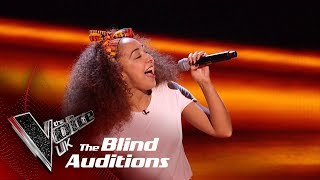 Kenza Blanka's 'Papaoutai'   Blind Auditions   The Voice UK 2019