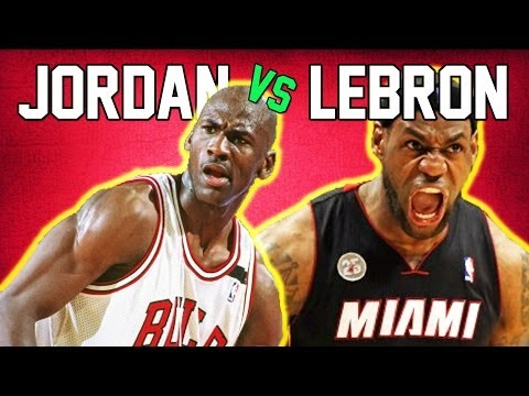 LeBron James vs. Michael Jordan: Who Would Win 1 on 1?