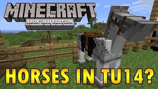 Minecraft (Xbox 360) Horses Coming In TU14? Hints From 4J
