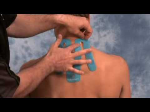 How to Tape for Neck Pain with SpiderTech Precut Neck Tape