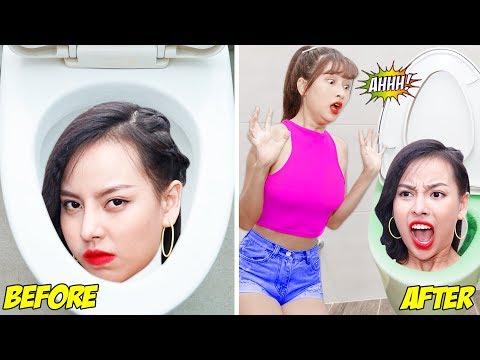 Girl DIY! TOP Funny Pranks On Friends / Prank Wars! BEST Funny DIY Pranks Compilation by T-TIPS