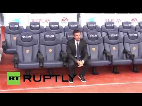 Spain: Barcelona FC sign Luis Enrique as team coach