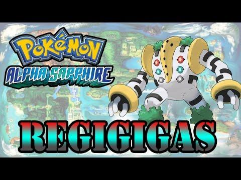 Caçando Lendários [Pokémon Alpha Sapphire] - Regigigas