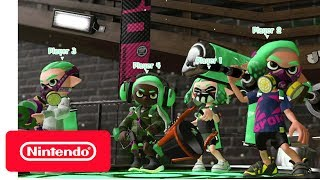 Splatoon 2 - Turf War (Show Floor) Demonstration - Nintendo E3 2017