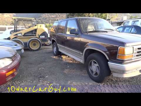 0 Car Parts Auto Part Fix & Repair ~ Cars Trucks For Sale Parting Out Video Review