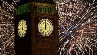 London Fireworks 2014 New Year's Eve Fireworks BBC One