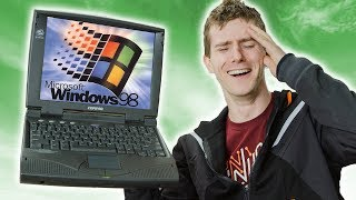 Gaming on a 25 YEAR OLD Laptop!!