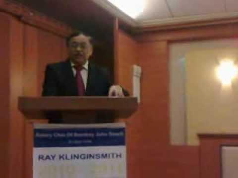 Prof. Girish Kumar - Rotary Meet, Juhu