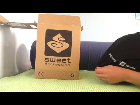 Unboxing-sweet protection helmet