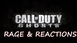 Call of Duty GHOSTS: Rage & Reactions (Funny Call of Duty Ghosts Moments)