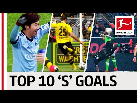 Sahin, Son & Sokratis - Top 10 Goals - Players With