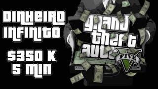 "GTA V Glitch Dinheiro Infinito ""$350,000 Em 5min"