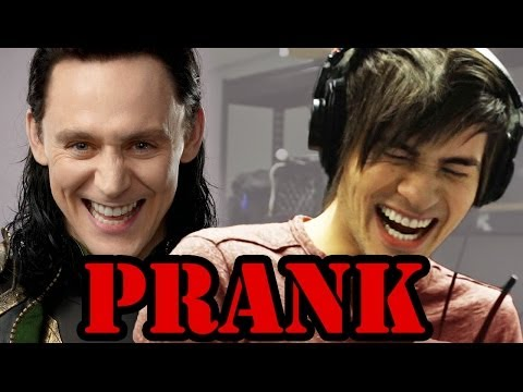 Loki Interview PRANK