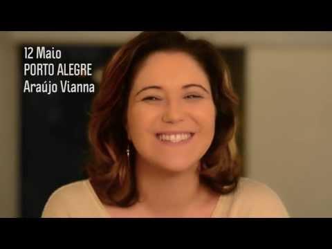 Turnê Redescobrir / Convite Porto Alegre 12 Maio