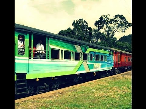 Экспресс Коломбо - Канди, Шри - Ланка // A trip with Exporail to Kandy