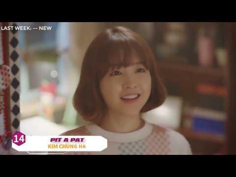 Bảng Xếp Hạng Nhạc Hàn Quốc 2017 - Top 20 bài hát hay nhất tuần 13: 26/03-01/04