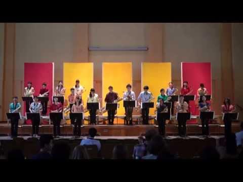 Satoshi Ohmae / DoublePhase, Soai Saxophone Ensemble