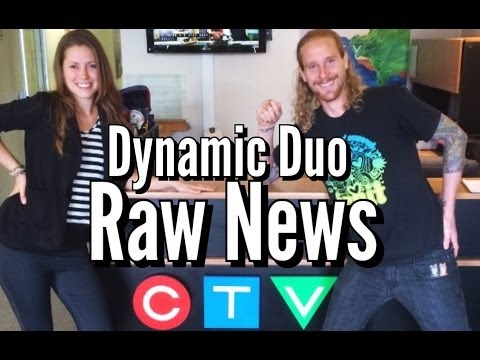 Naturally Ashley & the Banana Commander on CTV Morning Live News!