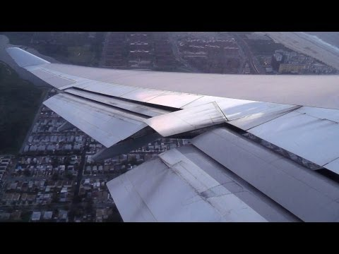 British Airways 747-400 Amazing Evening Takeoff from New York JFK!