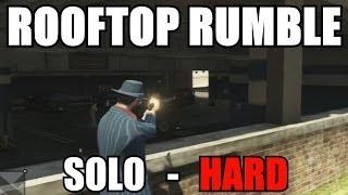 $280,000+ Per Hour GTA V Online! Rooftop Rumble SOLO