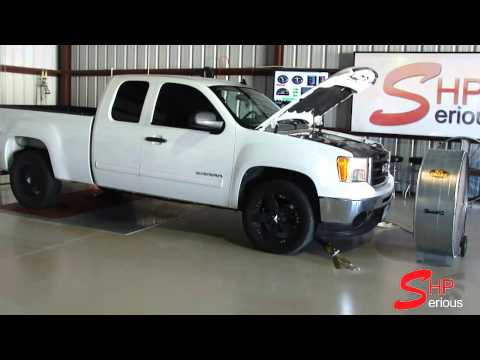 Dyno Tune GMC Sierra 4.8L Stock by SeriousHP Horsepower Performance