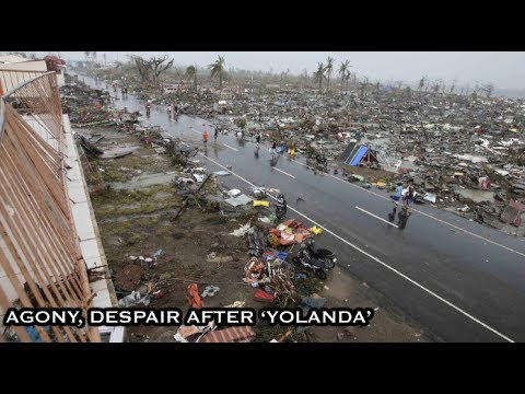 Smell of Death, scenes of despair after 'Yolanda'