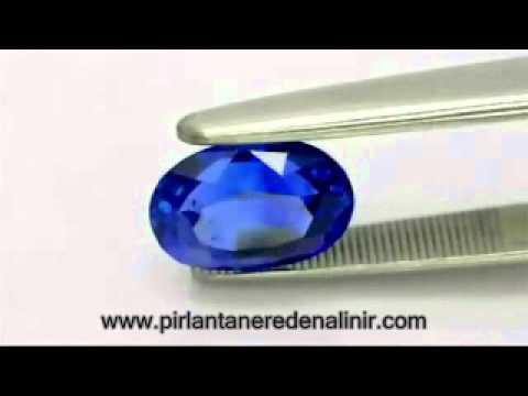 Pırlanta Safir Taş Modelleri 604