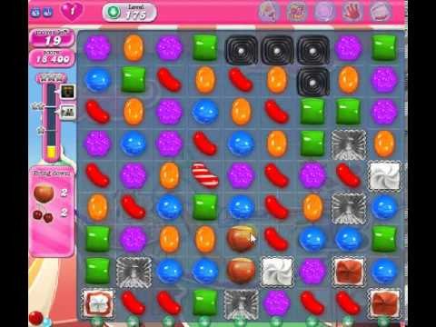 How to beat Candy Crush Saga Level 175 - 1 Stars - No Boosters - 74