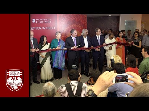 UChicago Center in Delhi Ribbon-Cutting Ceremony