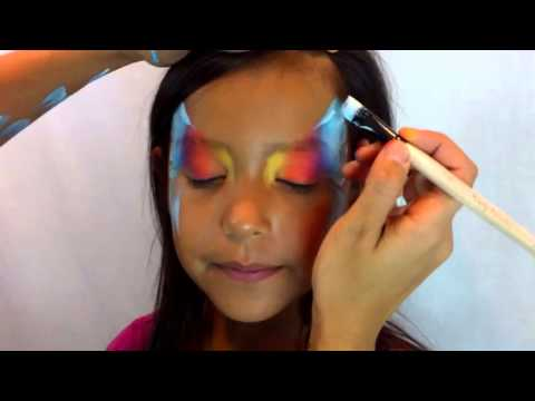 Face Painting Youtube Split Cake