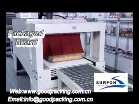 Side Sealing Shrink Packing Machine For Floor