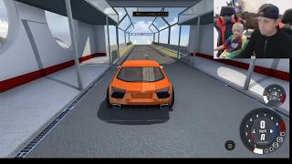 ROMAN NOAH AND KANE PLAY beamNG   RAMP  DISTANCE CHALLENGE