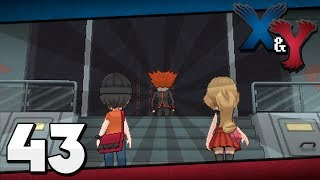 Pokémon X And Y Episode 43 Team Flare Secret HQ